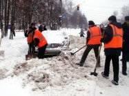 Уборка снега - Погрузка снега - Вывоз снега Киев - фото 5