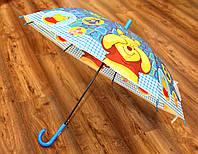 Красочный зонт трость для детей от 3 до 6 лет