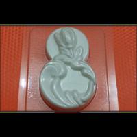 Пластиковая Форма для мыла - 8 Марта тюльпан