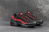Nike Air Max 95 мужские кроссовки. артикул 4796 черно красные