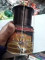 Леска(коричневая)1000 м,0,30 мм,карп эксперт, фото 1