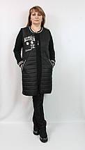 Женский весенний кардиган Далида (Турция) 50 52 54 56 р черный, фото 3