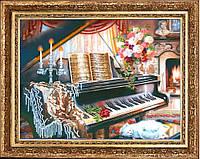 Набор для вышивки бисером Соната ре минор №227