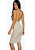 Новое облегающее платье с красивой спинкой Boohoo