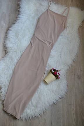 Новое облегающее платье с красивой спинкой Boohoo, фото 2