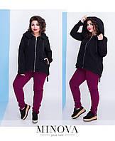Женский спортивный костюм утепленный . Размер 42-44, 46-48, 48-50, 50-52, 52-54,  54-56. В наличии 2 цвета, фото 1