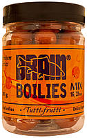 Бойлы Brain Tutti-Frutti (тутти) Soluble 200 gr, mix 16-20 mm