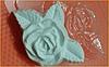 Пластиковая Форма для мыла - розочка