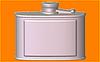 Пластиковая Форма для мыла - Фляжка