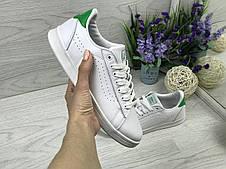 Кроссовки кеды женские Vans белые с зеленым 38,39р, фото 3