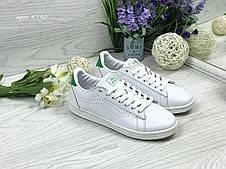 Кроссовки кеды женские Vans белые с зеленым 38,39р, фото 2