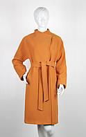 Пальто шерстяное Nina Vladi 107 абрикос