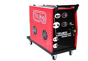 Зварювальний напівавтомат TELMIG 250A-380V (MIG-MMA)