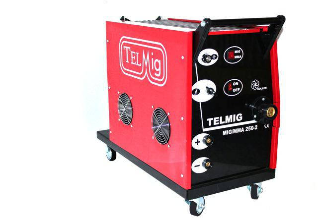 Сварочный полуавтомат TELMIG 250A-380V (MIG-MMA), фото 2