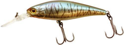 Воблер Jackall Squad Shad 65SP 65мм 7.2г HL Bronze Blue Pike