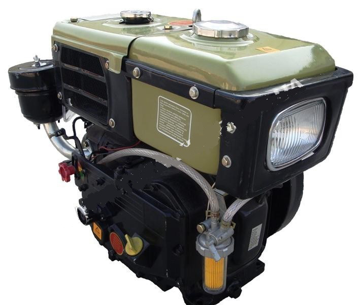 Двигатель Витязь SH180NDL (8 л.с.) стартер с водяным охлаждением