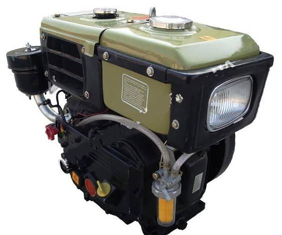 Двигатель Витязь SH180NDL (8 л.с.) стартер с водяным охлаждением, фото 2