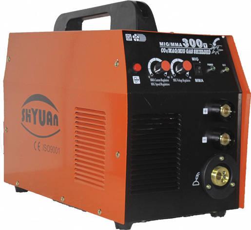 Сварочный полуавтомат Shyuan MIG 300 (+MMA)+газ. редуктор, фото 2