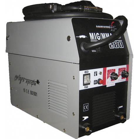 Сварочный полуавтомат Луч Профи MIG 280(+MMA)+газ. редуктор, фото 2