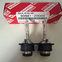 Kсеноновые лампы D2S Фіlips (газоразрядные) Toyota 90981-20005