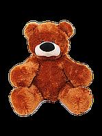 Коричневый плюшевый медведь 83 см