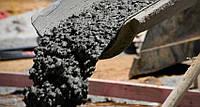 Установка направляющих и прием готовой бетонной смеси без бетононасоса (черновой пол)