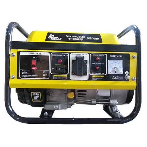 Бензиновый генератор Кентавр КБГ089, фото 2