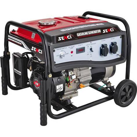 Бензиновый генератор SENCI SC5000-E (4,2-4,5 кВт), фото 2