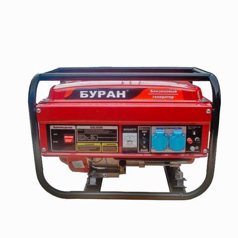 Бензиновый генератор Буран GG 3500, фото 2
