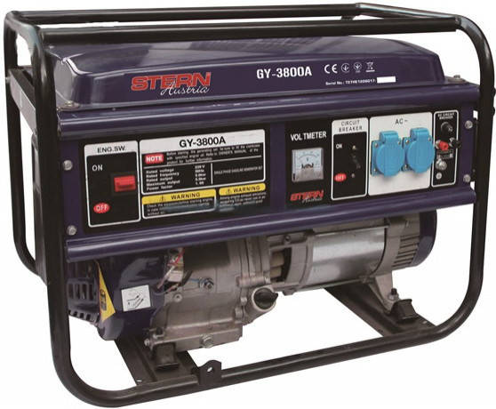 Бензиновый генератор Stern GY-3800А (3,3 кВт), фото 2