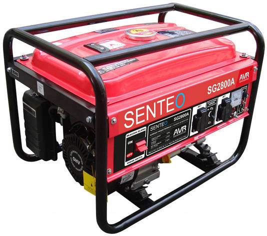 Бензиновый генератор Senteo SG2800A (2,5-2,8 кВт), фото 2