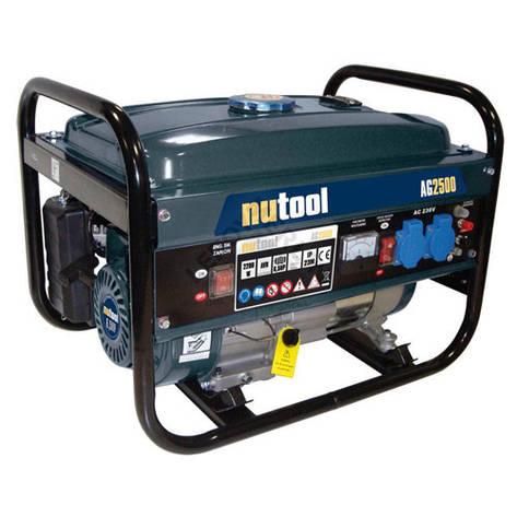 Бензиновый генератор NUTOOL AG2500 (2,0-2,2 кВт), фото 2