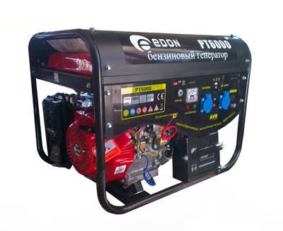 Бензиновый генератор Edon PT-6000E, фото 2