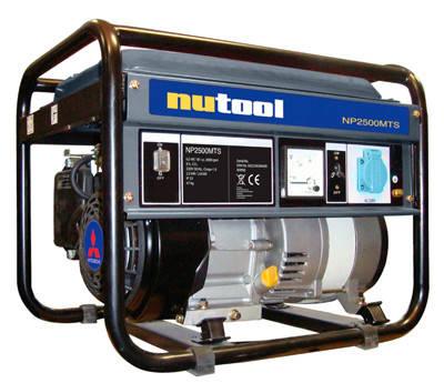 Бензиновый генератор NUTOOL NP2500 MTS (Mitsubishi, 2,5-2,8 кВт), фото 2