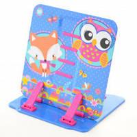 Подставка для книг цветная металлическая Charming animals 470423
