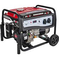 Бензиновый генератор SENCI SC5000-EI (4,2-4,5 кВт) эл.с., пульт