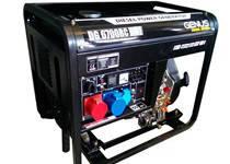 Дизельный генератор Genus DG6700RC-DV (Universal) Возможность работы в режиме 1 фазы и 3 фазы., фото 2