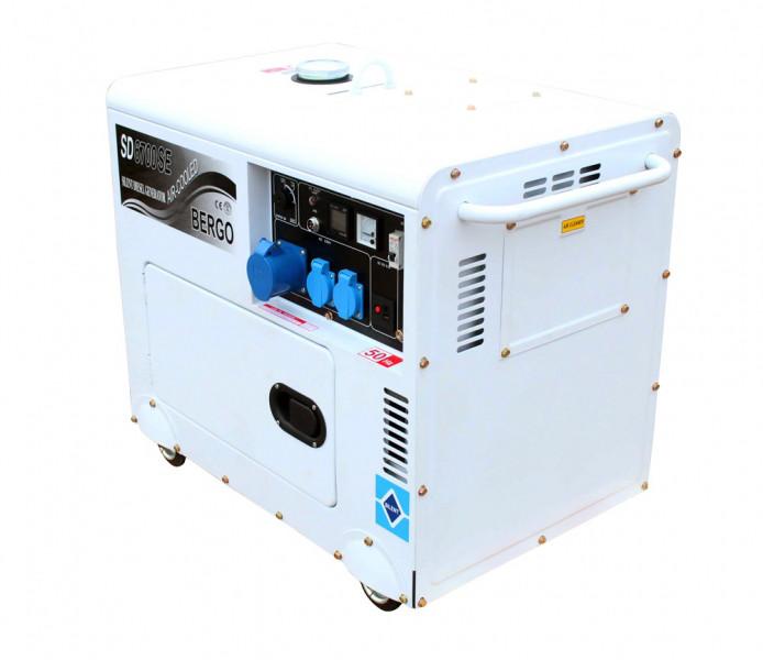 Дизельний генератор Bergo SD-6700 SE ( ATS)