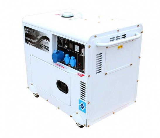 Дизельний генератор Bergo SD-6700 SE ( ATS), фото 2