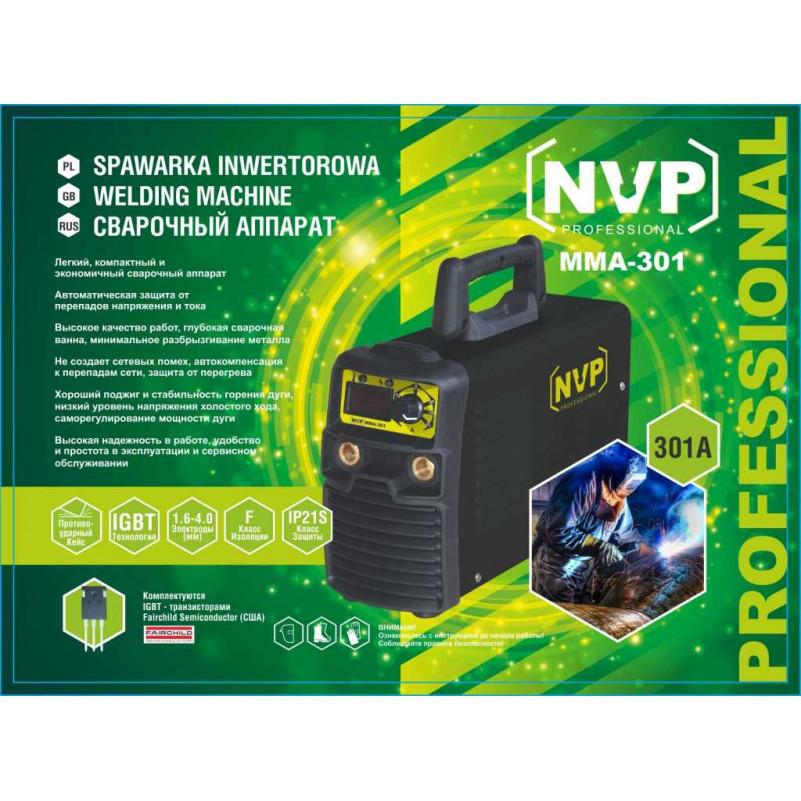 Сварочный инвертор NVP ММА-301 + алюм. кейс