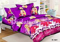 Детское постельное белье Барби и пудель