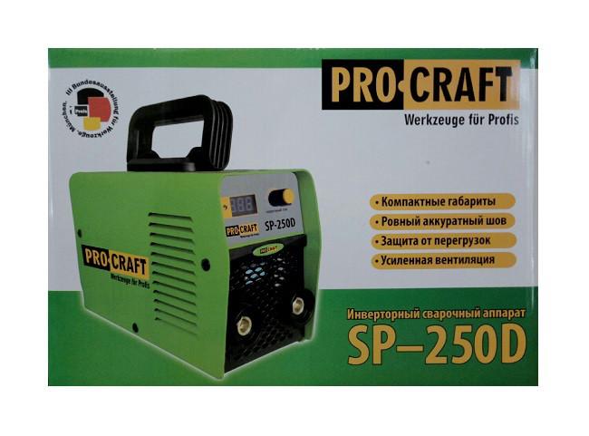 Cварочный инвертор Procraft SP-250D