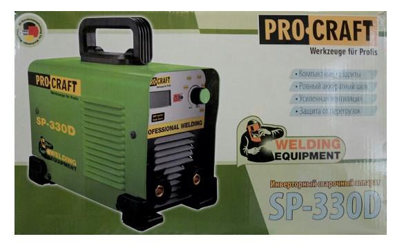 Cварочный инвертор Procraft SP-330D
