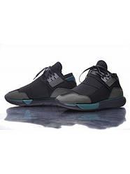 Подростковые кроссовки Adidas Y-3 Qasa High Grey/Blue