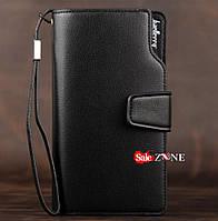 Клатч Baellerry business черный, портмоне, кошелёк
