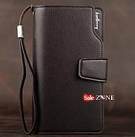 Клатч Baellerry business коричневый, портмоне, кошелёк