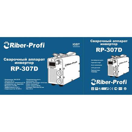 Сварочный инвертор Riber-Profi RP 307D (Дисплей), фото 2