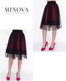 Двухслойная юбка-пачка норма ТМ Minova р. 42-46