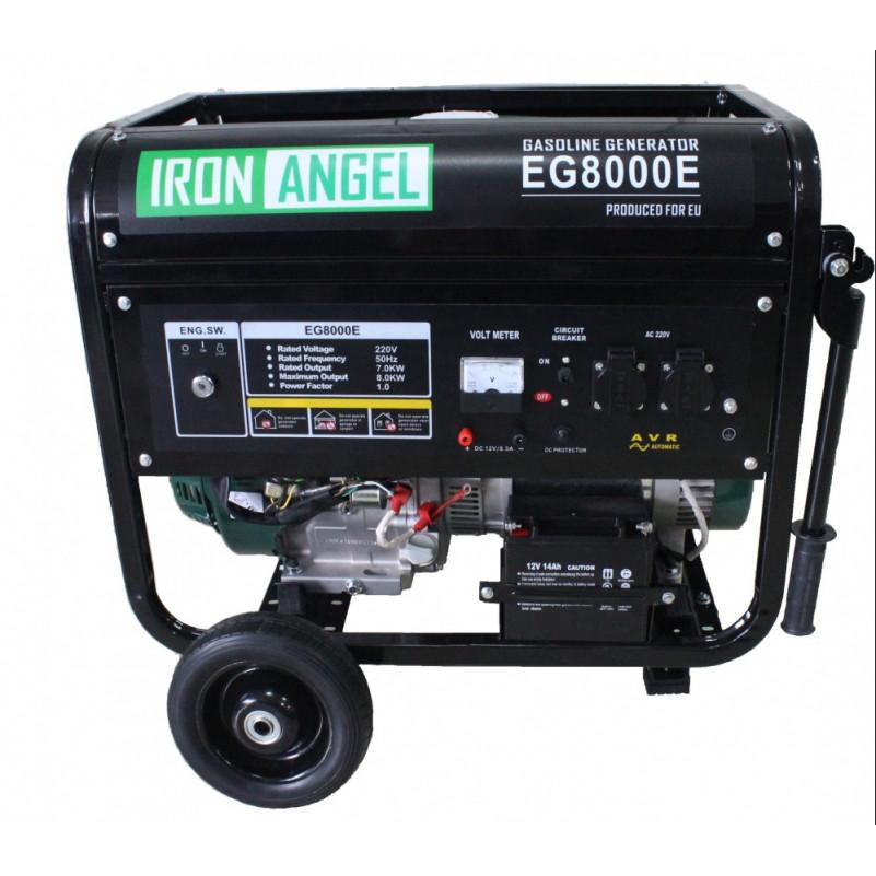 Бензиновый генератор IRON ANGEL EG 8000 E