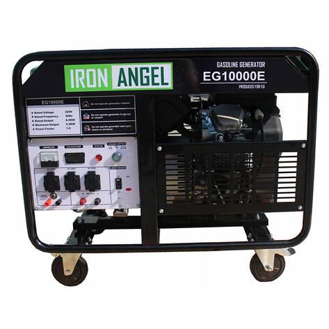 Бензиновий генератор IRON ANGEL EG 10000 E, фото 2